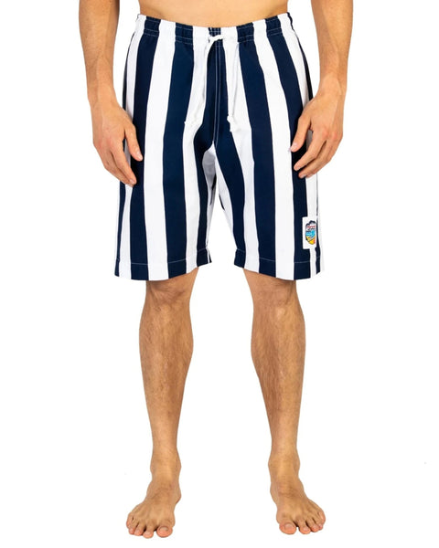Classic Boardies - Stripes Navy
