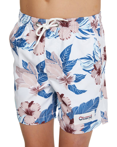 Kids Swim Short - The Farrelly - Natural