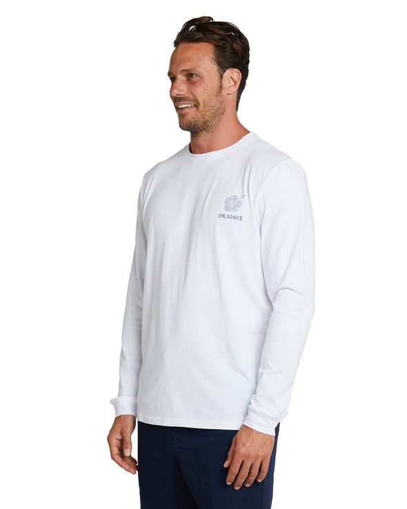 L/S T'S - Escaping the Everyday - White