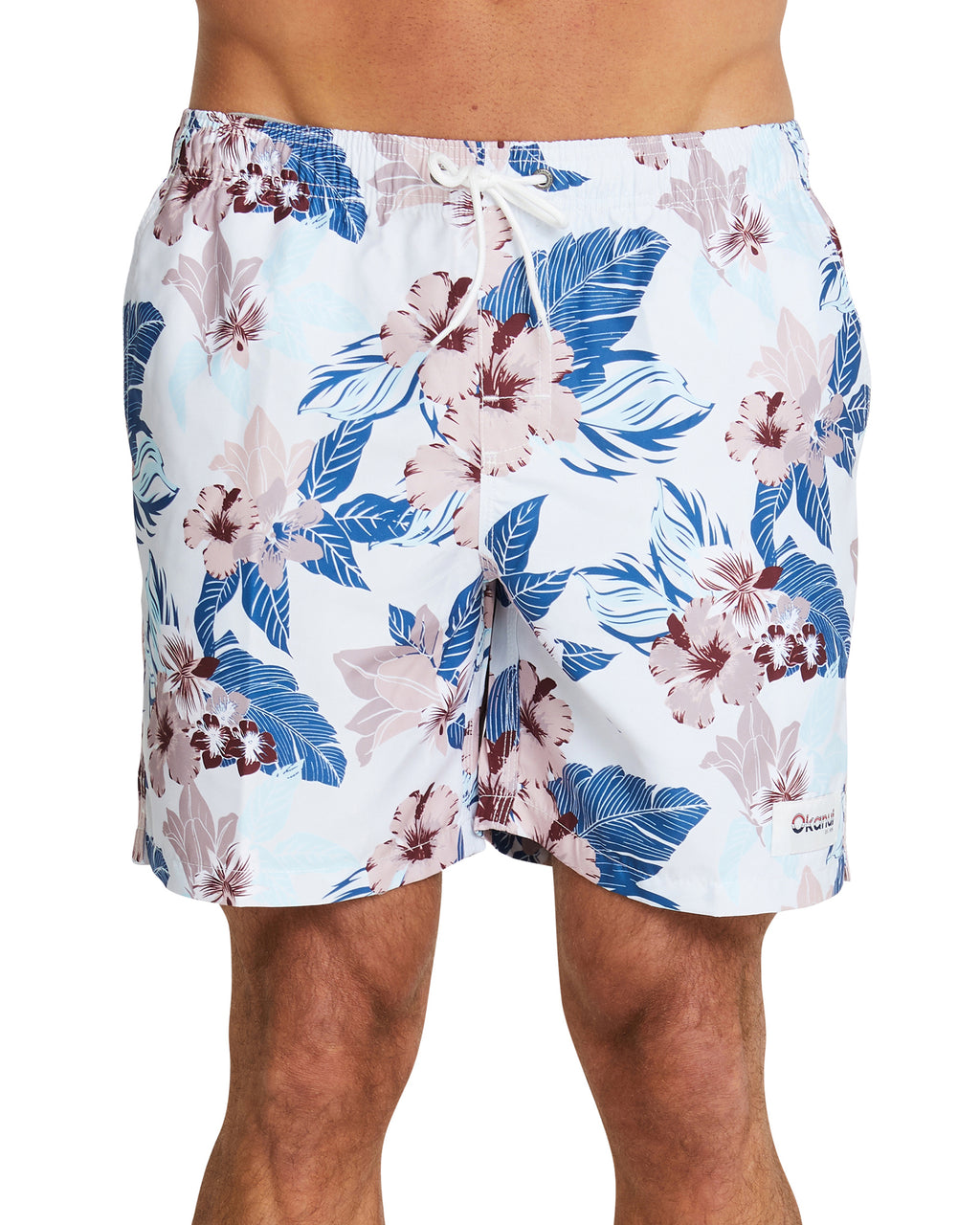 Swim Short - The Farrelly - Natural - 17""
