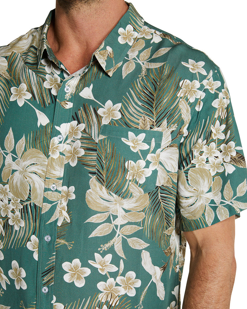 S/S Shirts - 100% Rayon - Tropic Shores