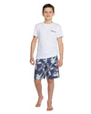 Kids Board Shorts - Fern Gully Boardrider