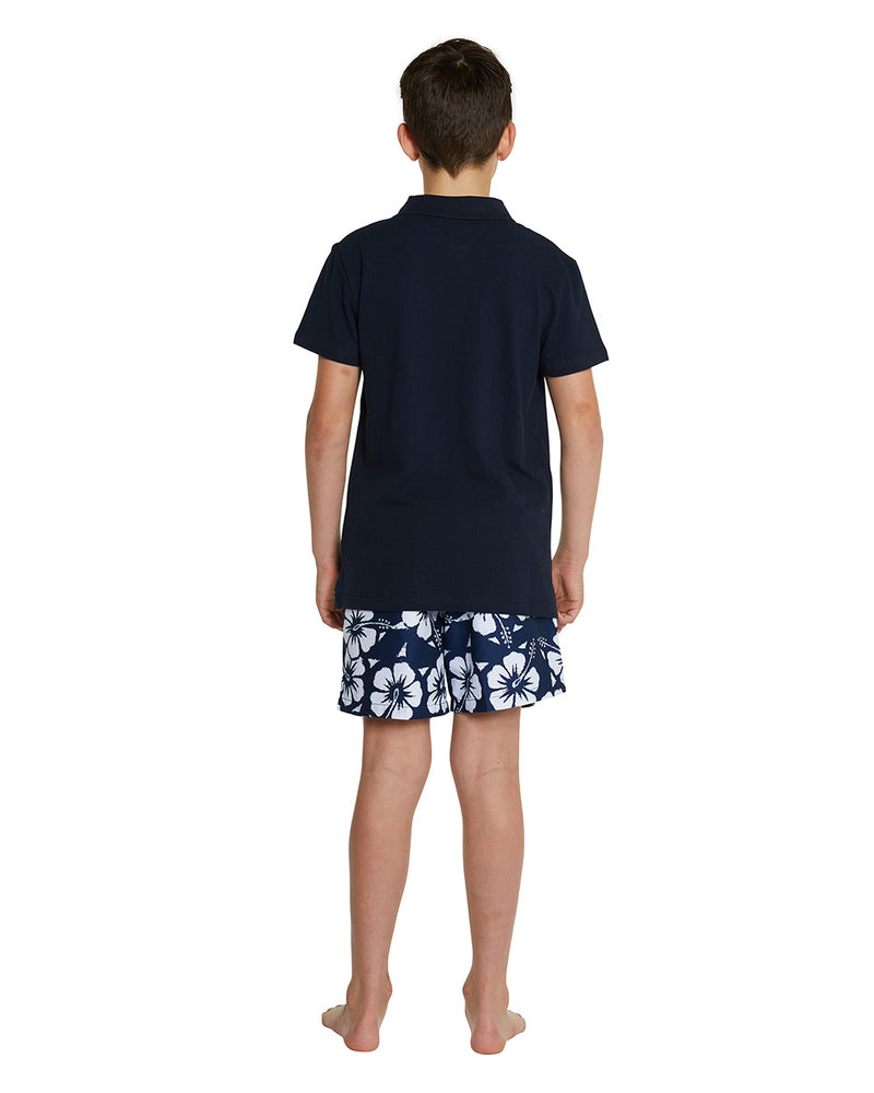 Kids Polo Shirt - Navy