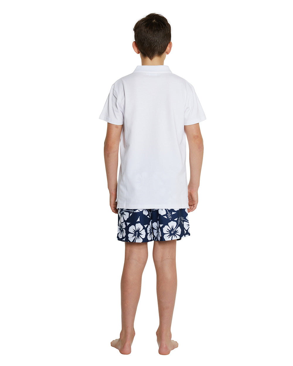Kids Polo Shirt - White