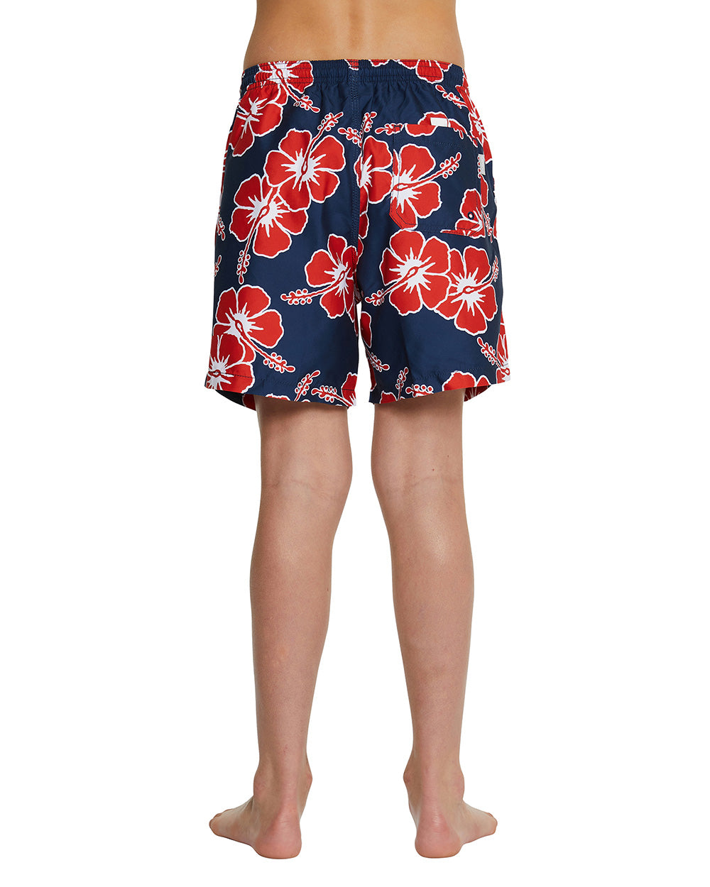Kids Swim Shorts - Way Back When - Navy - 17""