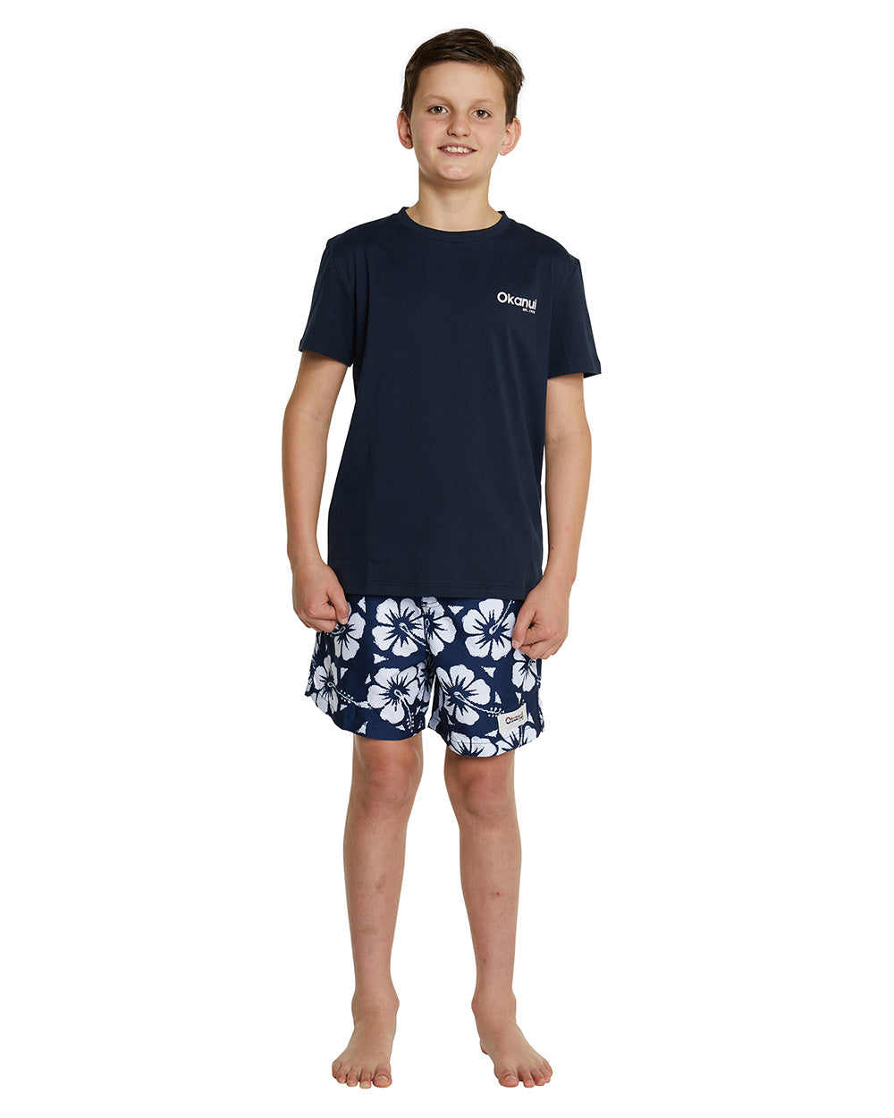 Kids T's - Cam Surf - Navy