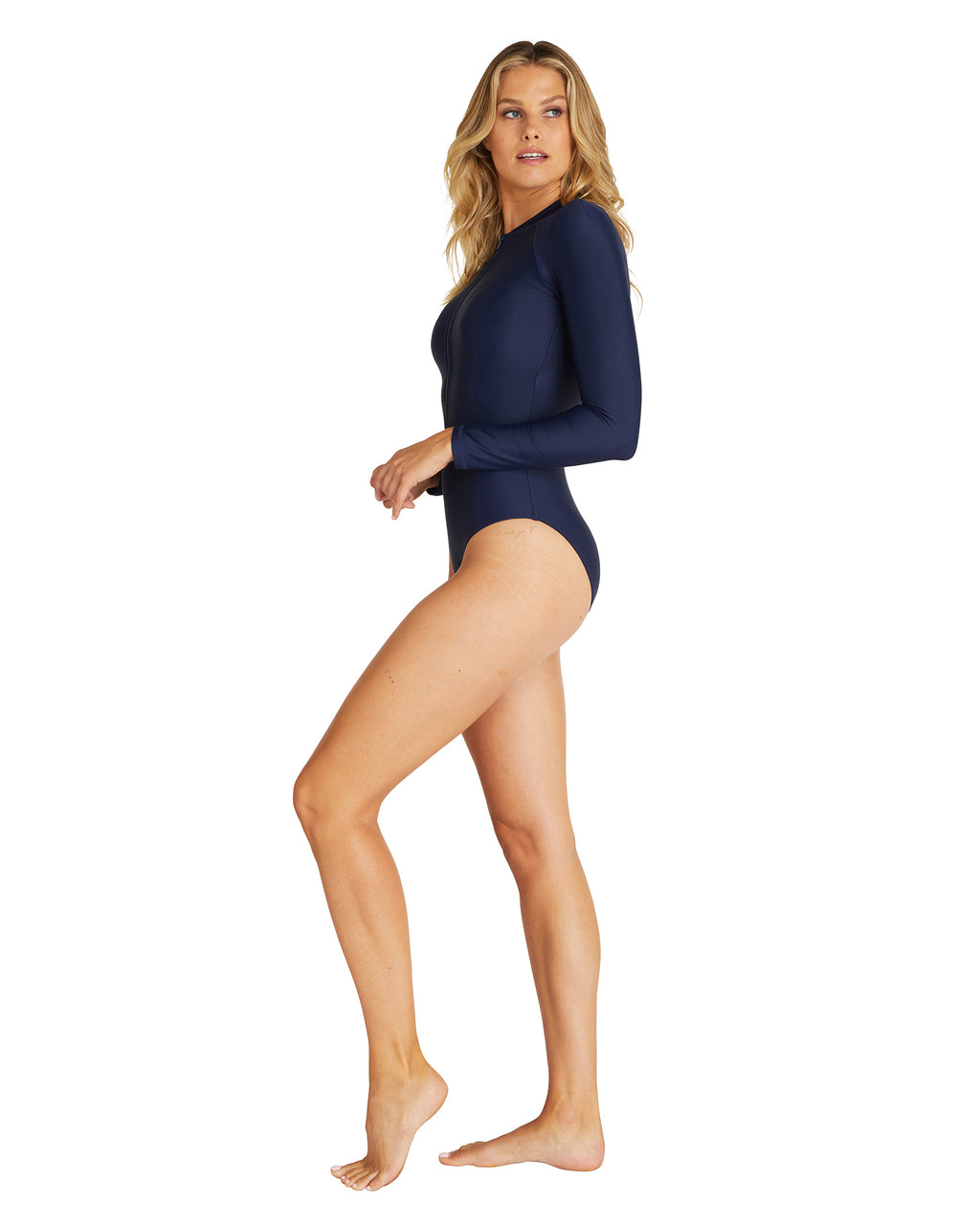 Womens Long Sleeve Suit - Navy
