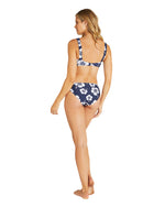 Womens Regular Brief Bikini Bottom - Hibiscus