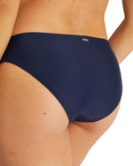 Womens Regular Brief Bikini Bottom - Navy