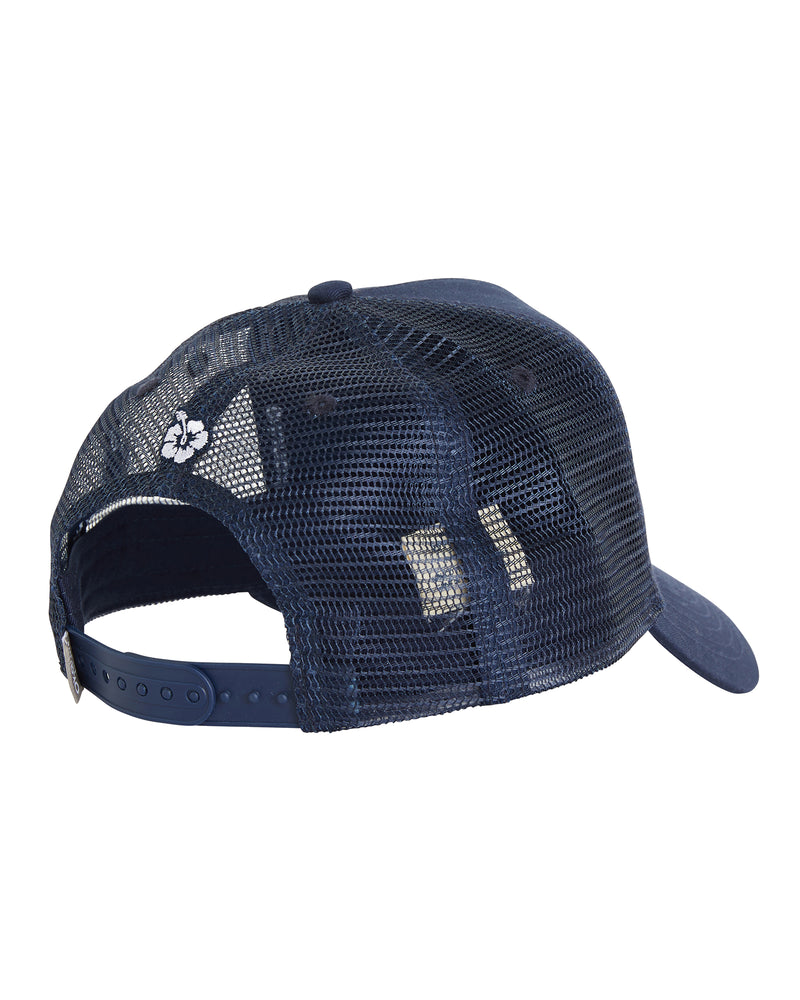 Twill Front Trucker Hat - Navy