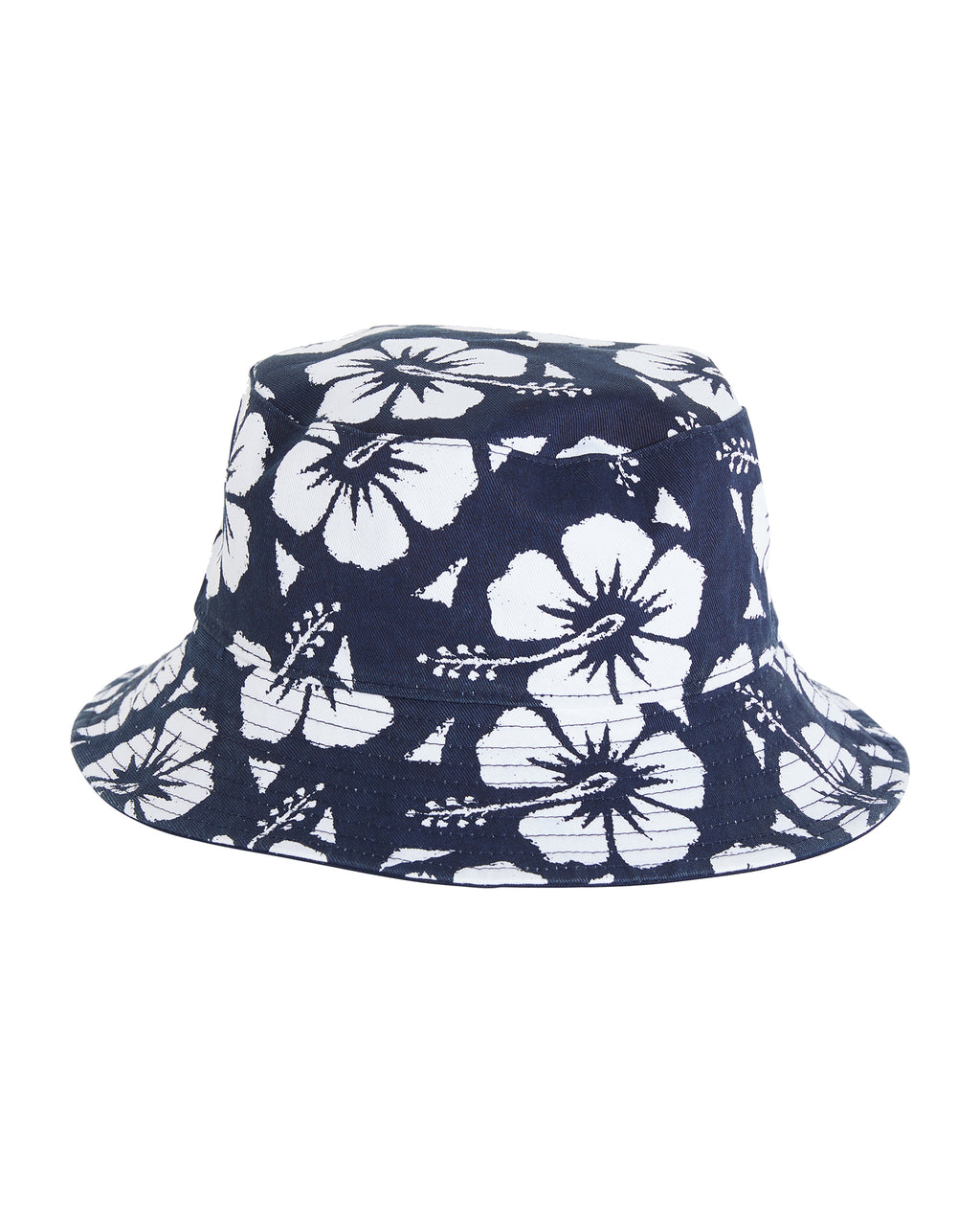 Kids Classic Bucket Hat - Reversible - Navy