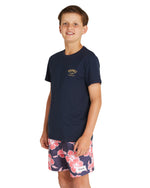 Kids T's - Surf Club - Navy