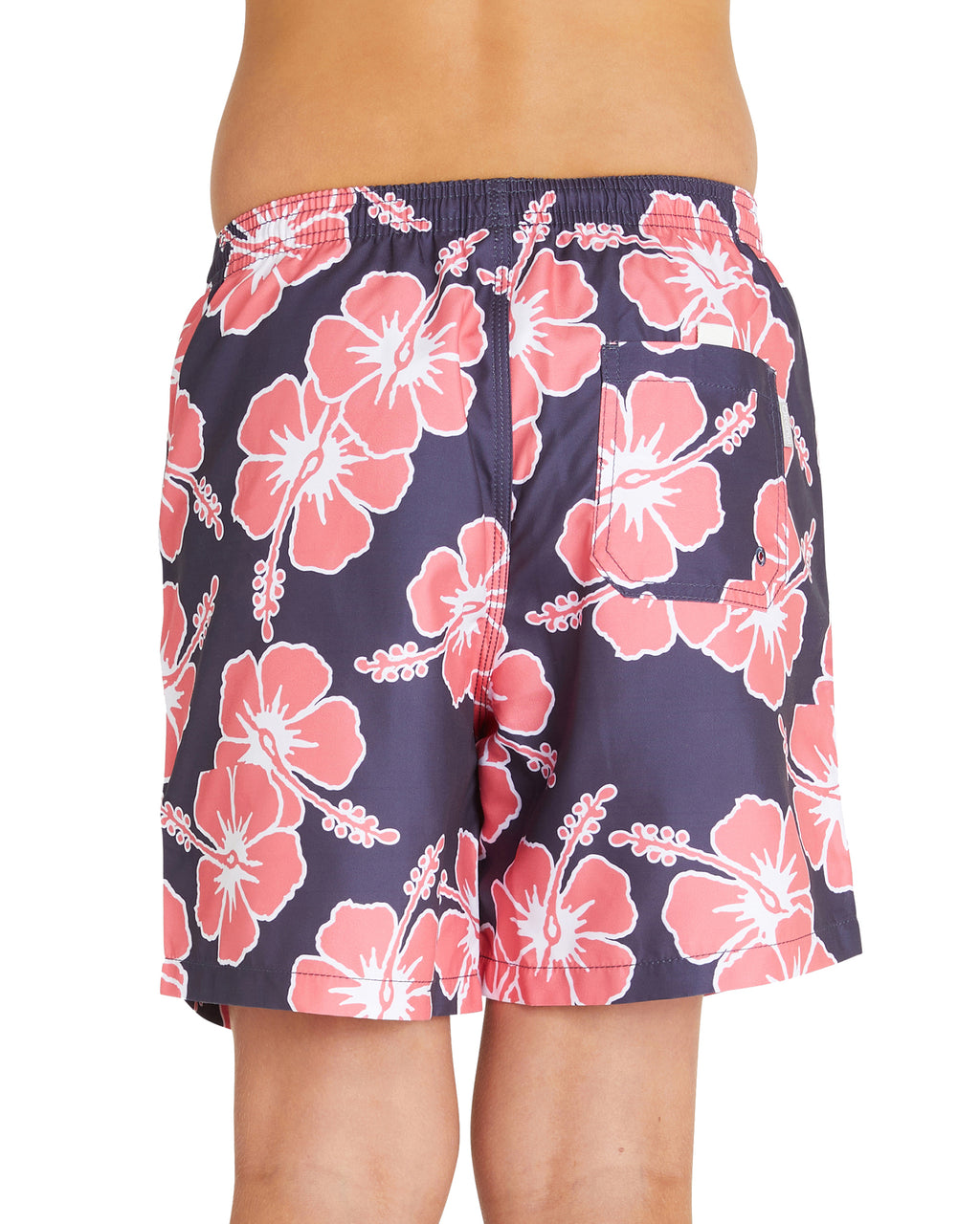 Kids Swim Short - Way Back When - Charcoal