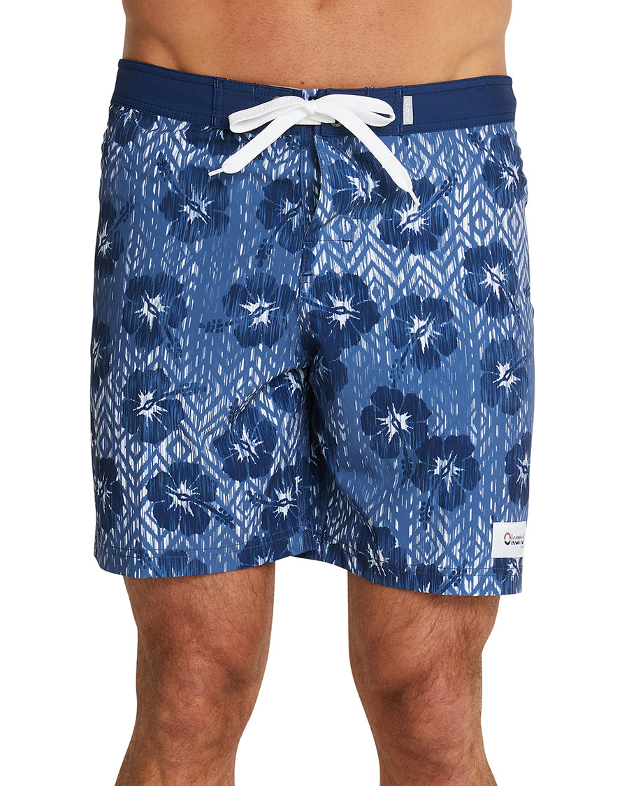 Board Shorts - Ikat Navy Boardrider