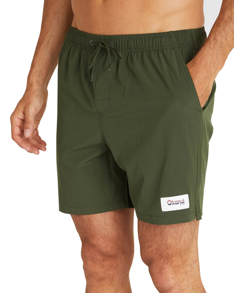 Swim Short - Classic Plain - Army