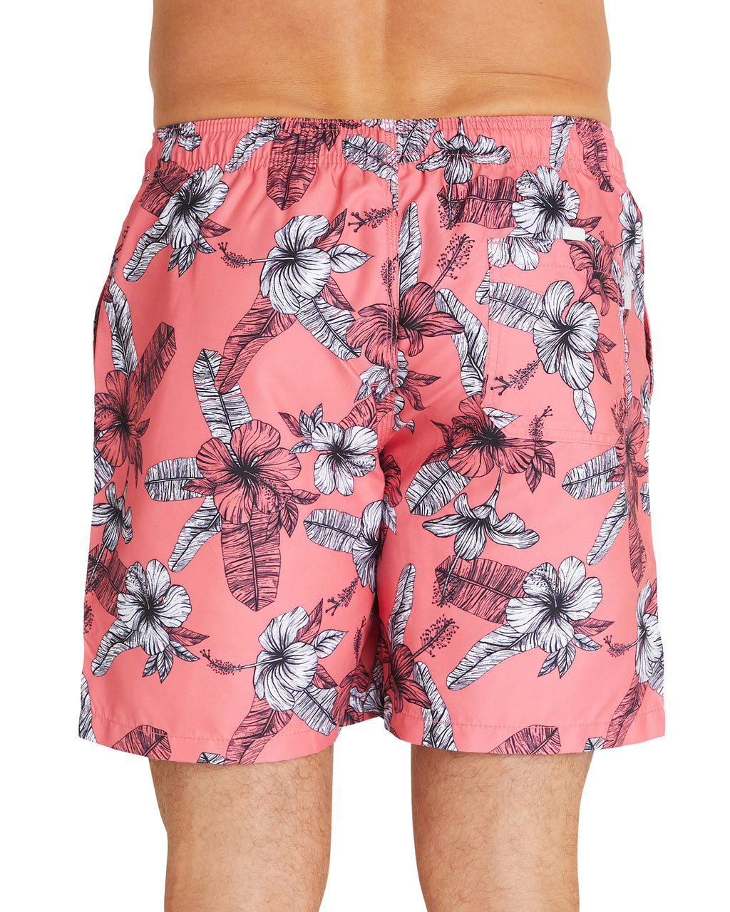 Swim Short - Fern Gully - Coral