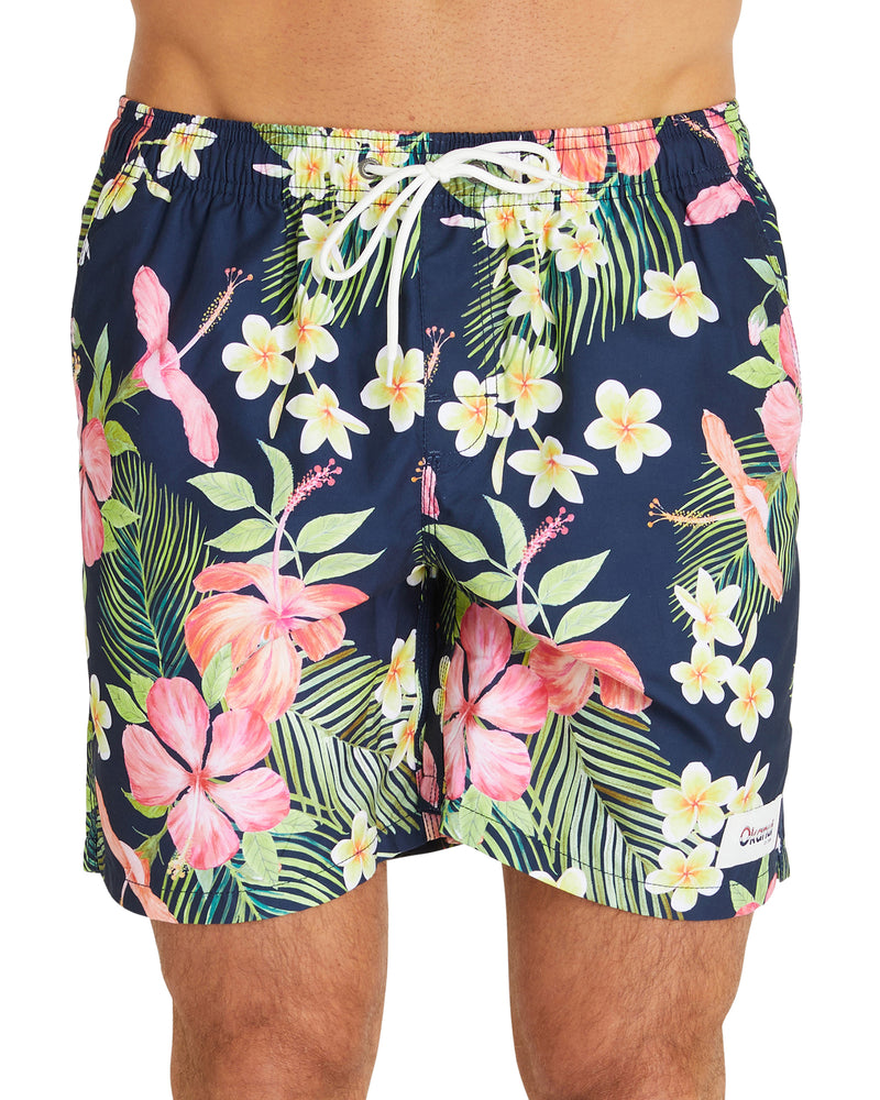 Swim Short - Tropic Shores - Navy