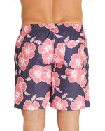 Swim Short - Way Back When - Charcoal