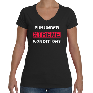 FUN Ladies V-Neck T