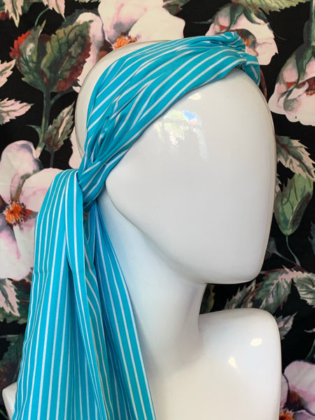 Gypsy Cotton - Blue With White Strip