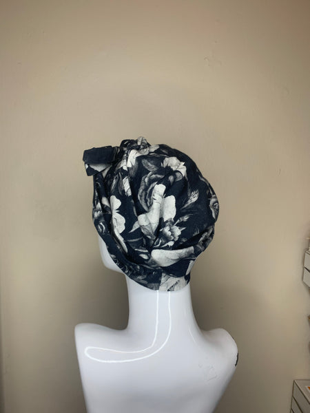 No Hair Don't Care - Black and White Roses