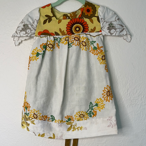 Vintage Tunic - Sunflower - Baby