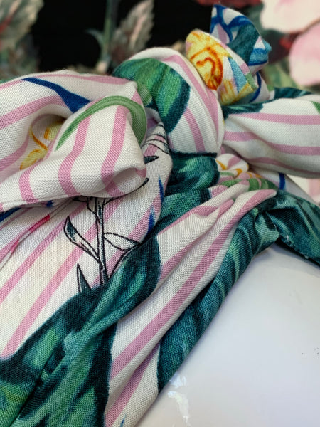 Gypsy Cotton - Striped Floral Soft Candy