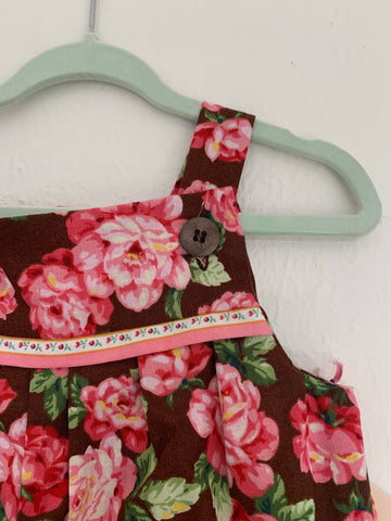 Baby Romper Cotton - Roses 🌹 0 to 3 Months