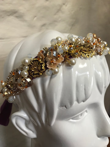 Beaded Headband - 'Oh Darling'
