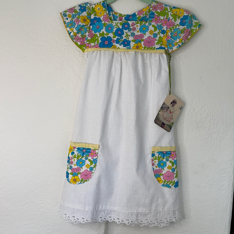 Lu Lu Dress/Tunic - Fresh White - 1 to 3 Year Old