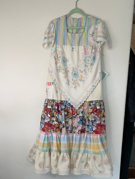 miss  haidee vintage dress size 8 Butterfly