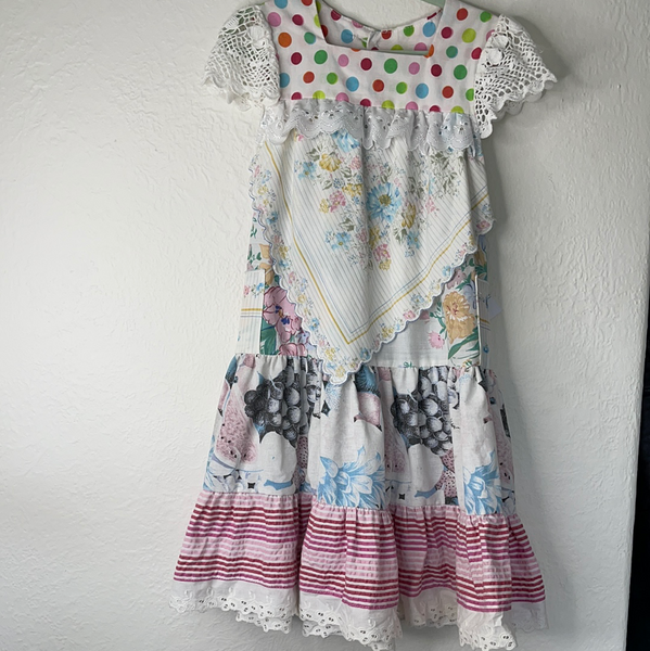 Miss haidee vintage dress size 4 pastel perfect