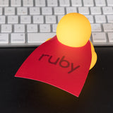 devDucks Ruby Rubber Duck