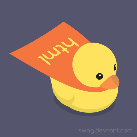devDucks HTML Rubber Duck