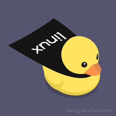 devDucks Linux Rubber Duck