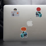 devRant Laptop Stickers 2.0 - All New Designs