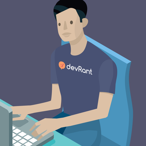 devRant + Icon T-shirt