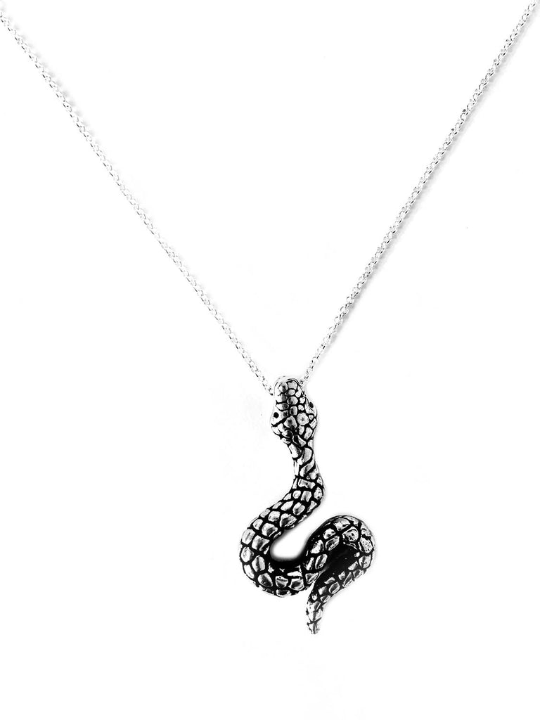 Snake Necklace Cobra rattle