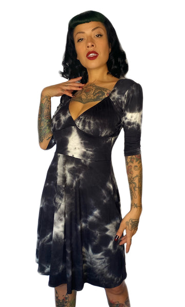Tye Dye Summer Light Weight Swing Punk Rock Dress