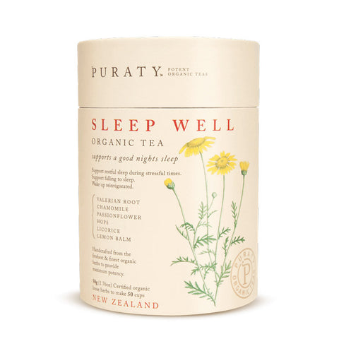 Puraty Sleep Well Organic Tea