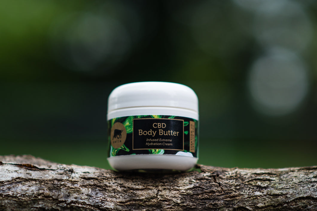 Hemp Extract Body Butter Lotion