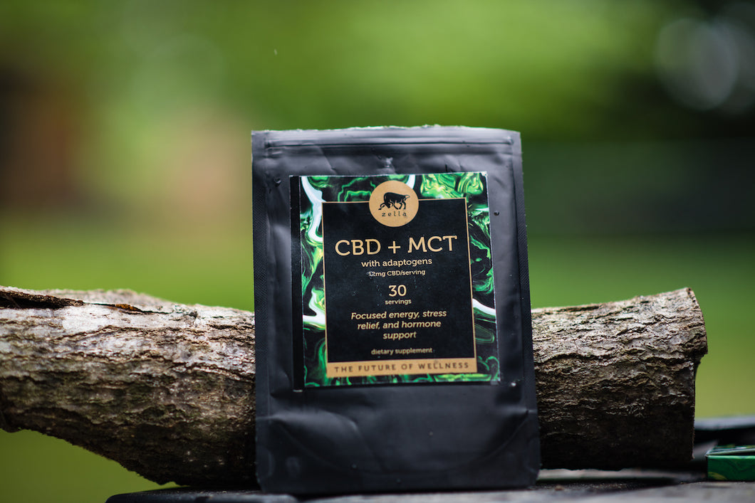 Hemp Extract + MCT Powder with Adaptogens