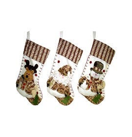 Stockings Decoration  Ideas with snowman