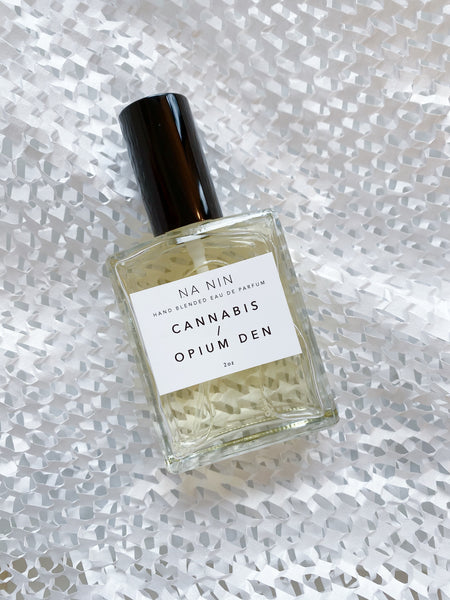 young blood boutique na nin perfume fragrance cannabis opium den bottle
