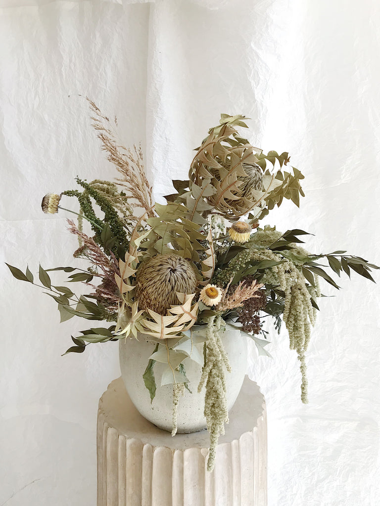 Large - Dried Vase Arrangement