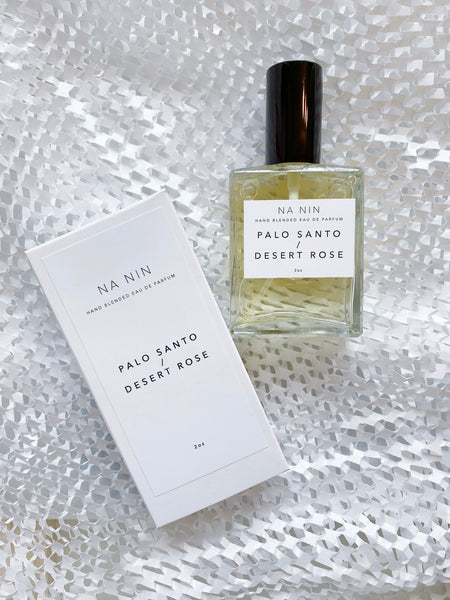 young blood boutique na nin perfume fragrance palo santo desert rose