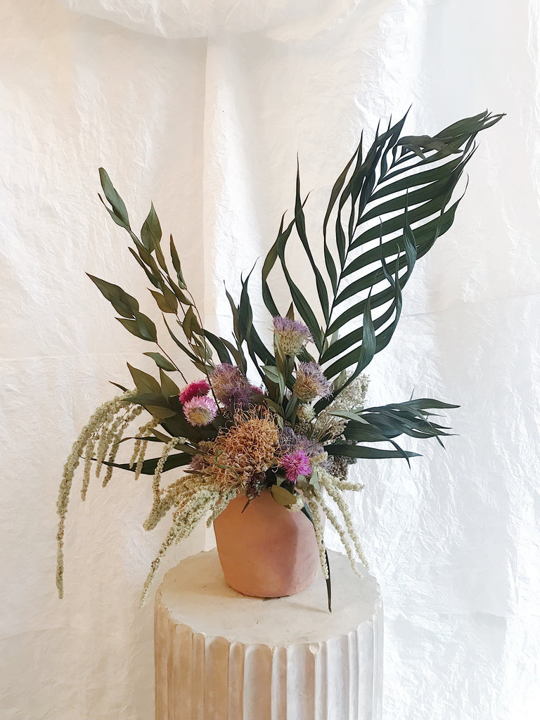 Medium - Dried Vase Arrangement