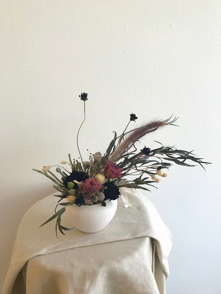 Extra Small - Dried Vase Arrangement