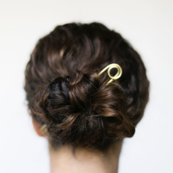 Le Loop Bun Pin