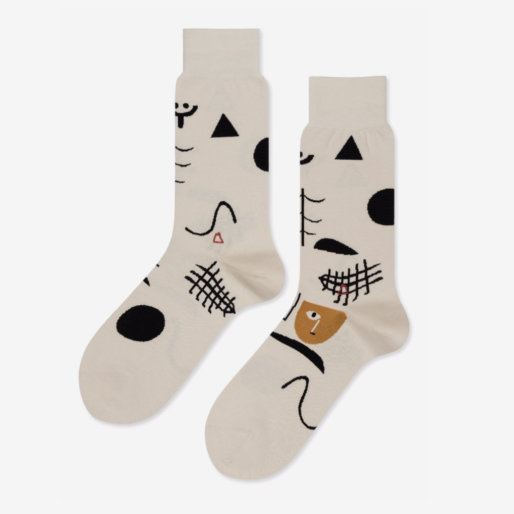 Hansel from Basel Klee socks young blood boutique